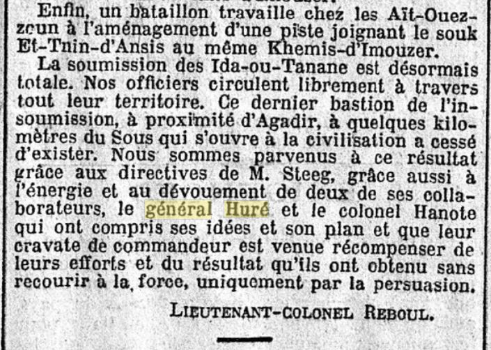 Général Huré Gzonz731