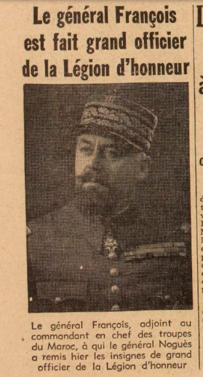Général François, Marie Gzonz793