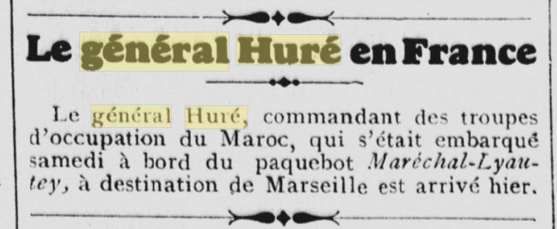 Général Huré Gzonz830