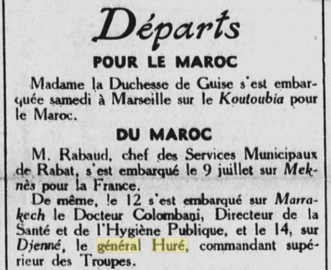 Général Huré Gzonz853