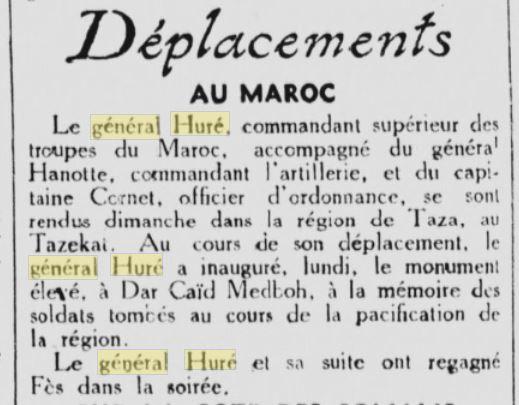 Général Huré Gzonz881