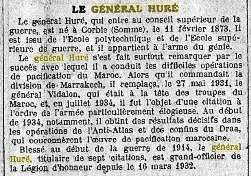 Général Huré Gzonz885