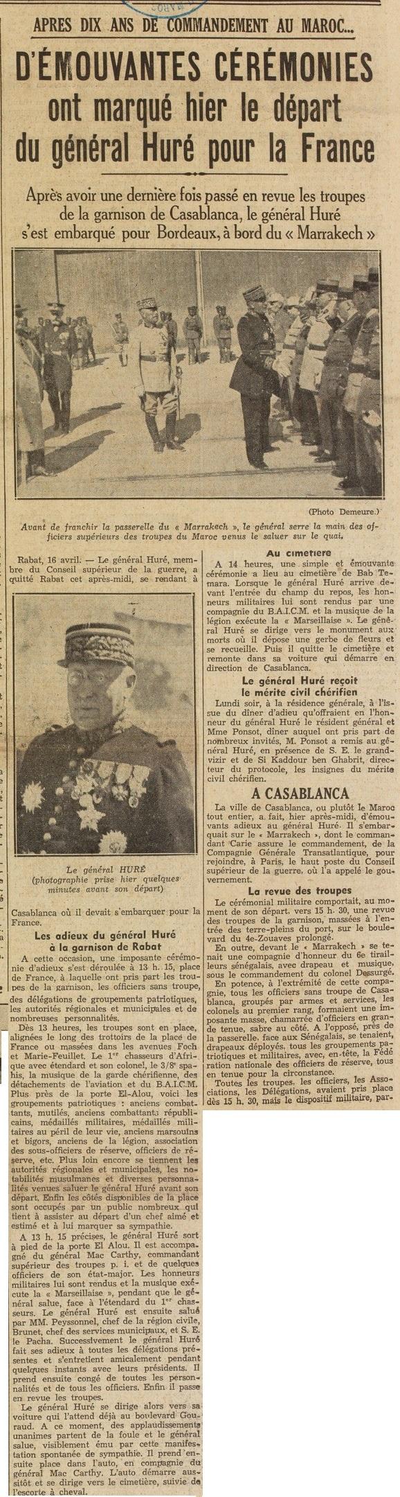 Général Huré Gzonz889