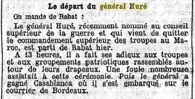 Général Huré Gzonz891