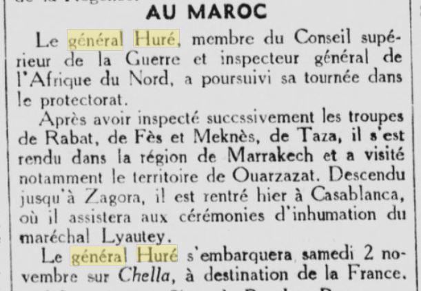 Général Huré Gzonz906
