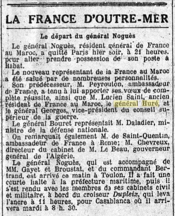 Général Huré Gzonz922