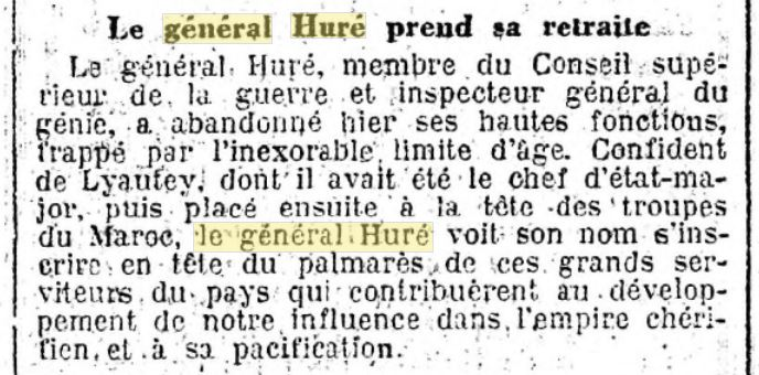Général Huré Gzonz932