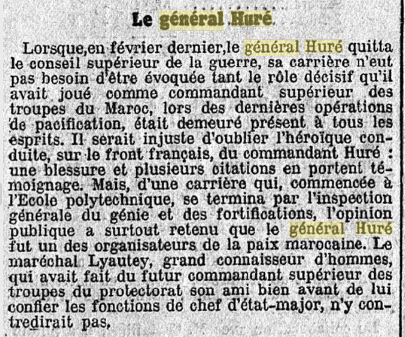 Général Huré Gzonz937