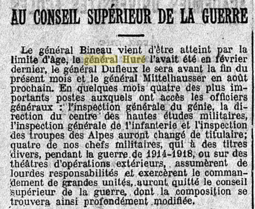 Général Huré Gzonz938