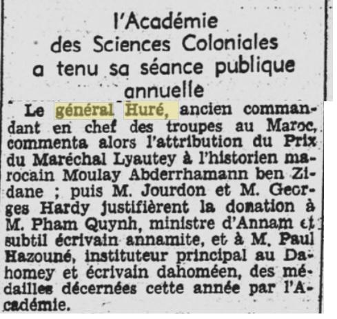 Général Huré Gzonz945