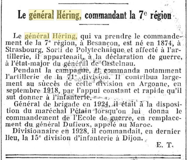 Général Héring Gzonzo30