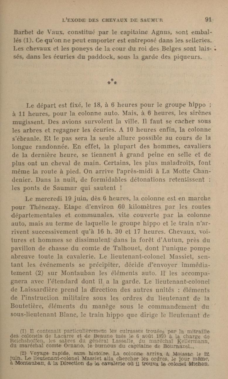 Le Colonel Charles Michon Chef des Cadets de Saumur... 2021. Revue_12