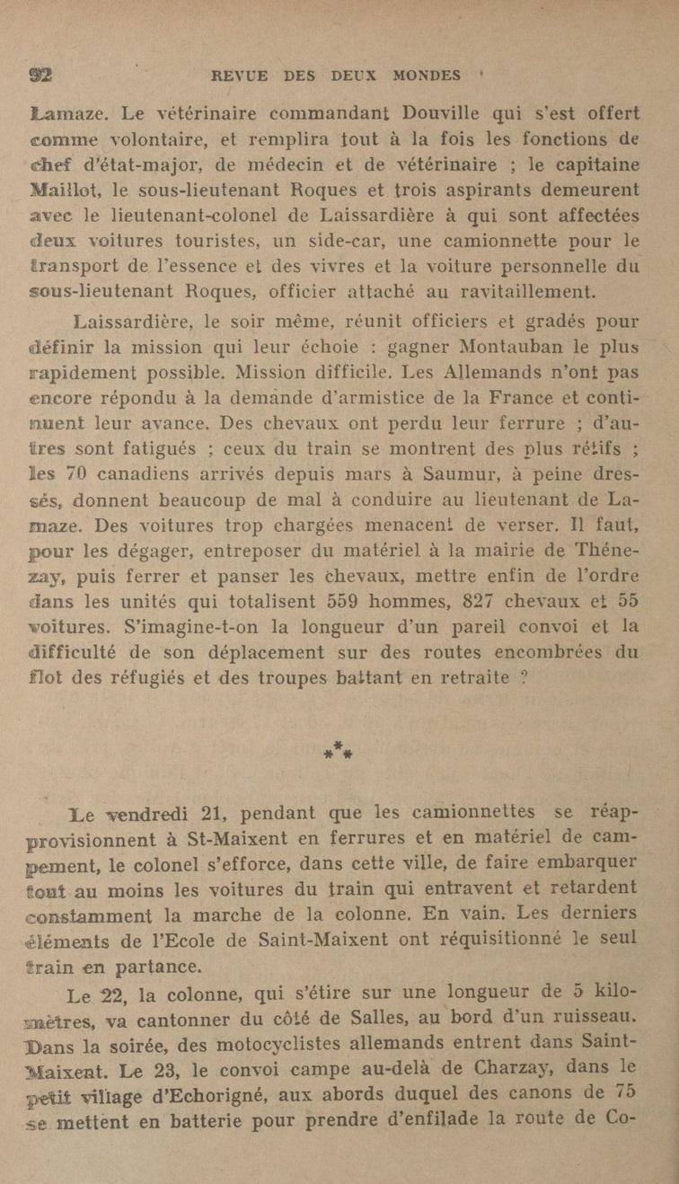 Le Colonel Charles Michon Chef des Cadets de Saumur... 2021. Revue_14