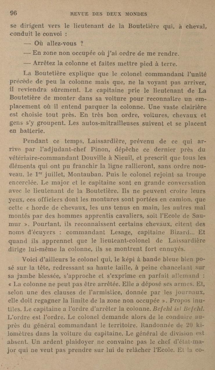Le Colonel Charles Michon Chef des Cadets de Saumur... 2021. Revue_17
