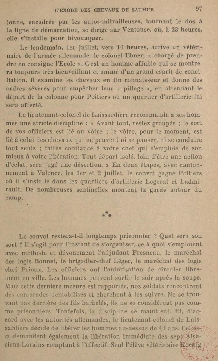 Le Colonel Charles Michon Chef des Cadets de Saumur... 2021. Revue_18