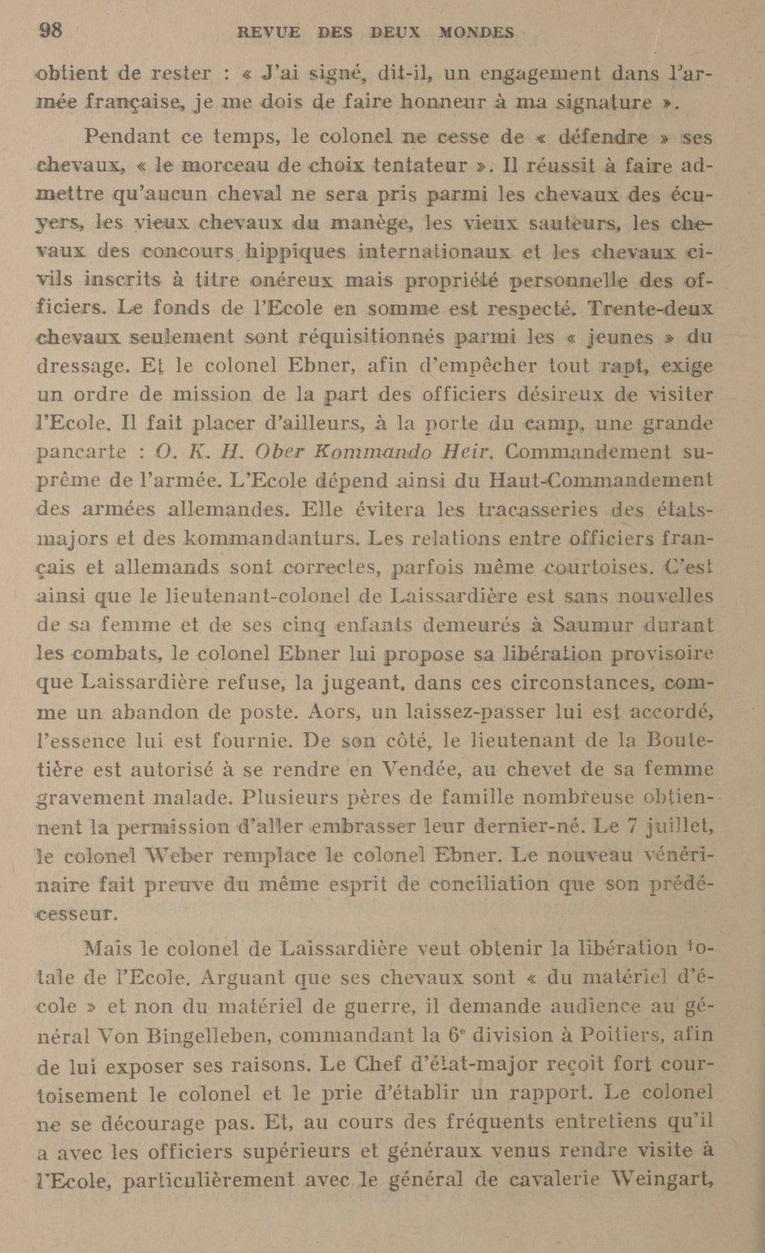 Le Colonel Charles Michon Chef des Cadets de Saumur... 2021. Revue_19