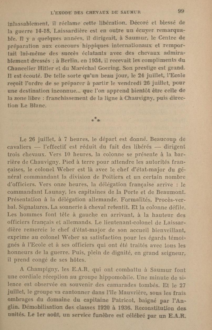 Le Colonel Charles Michon Chef des Cadets de Saumur... 2021. Revue_21