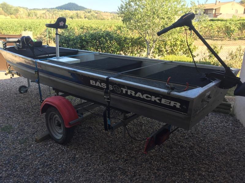 Bass tracker tadpole 14  aménagements  Img_5710