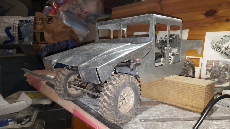 AXIAL SCX10 Hummer H1 Full styrene devient Full Zinc - Page 3 20170218