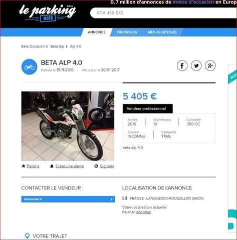 Le Bon Coin Les Bonnes Occasion Trail Du Net Page 2