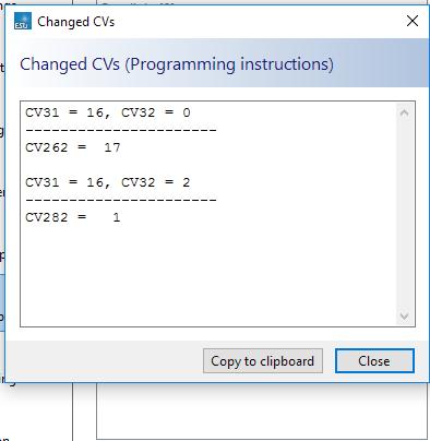 Mappage des fonctions sur décodeur ESU 64610 Cange_10