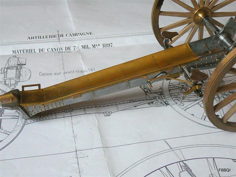 Canon de 75  de 1897 Debut_10