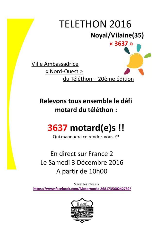 Participation Téléthon Noyal sur Vilaine (35) le 03 Décembre 2016 Affich10