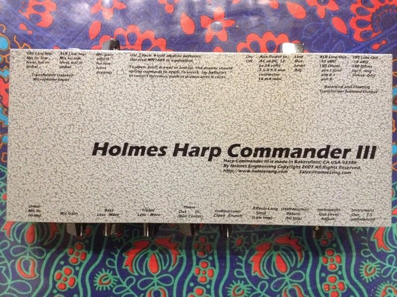 Vend Holmes Harp Commander III Img_2310