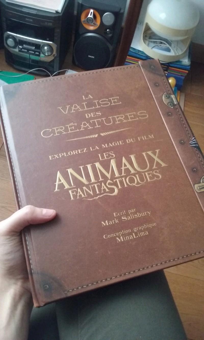 Beaux livres sur les Animaux Fantastiques 20161121