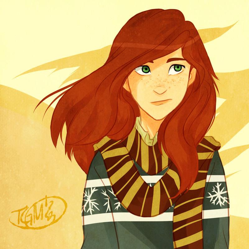 Jeu des dessins HP! ^^ - Page 2 Ginny10