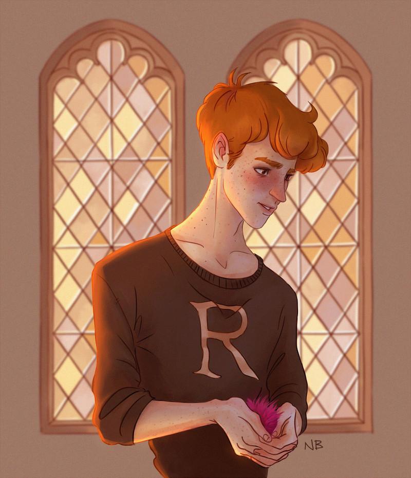 Jeu des dessins HP! ^^ - Page 2 Ron_410