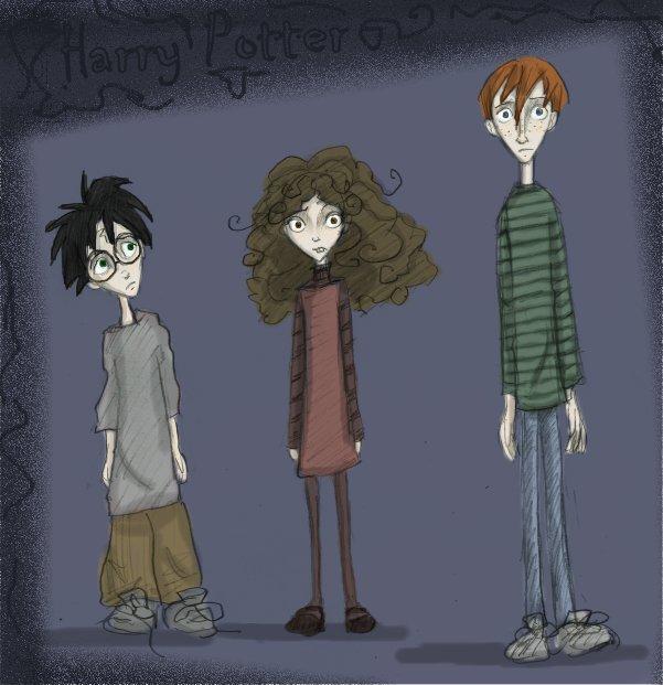 Jeu des dessins HP! ^^ - Page 4 Trio_810