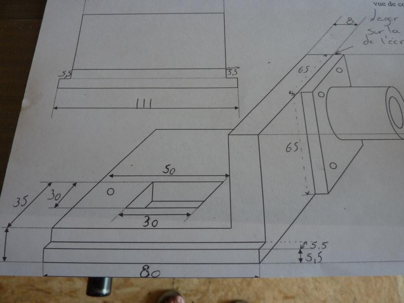 Fabrication d'une platine avec coulisses et vis-mère pour établi ! P1010634