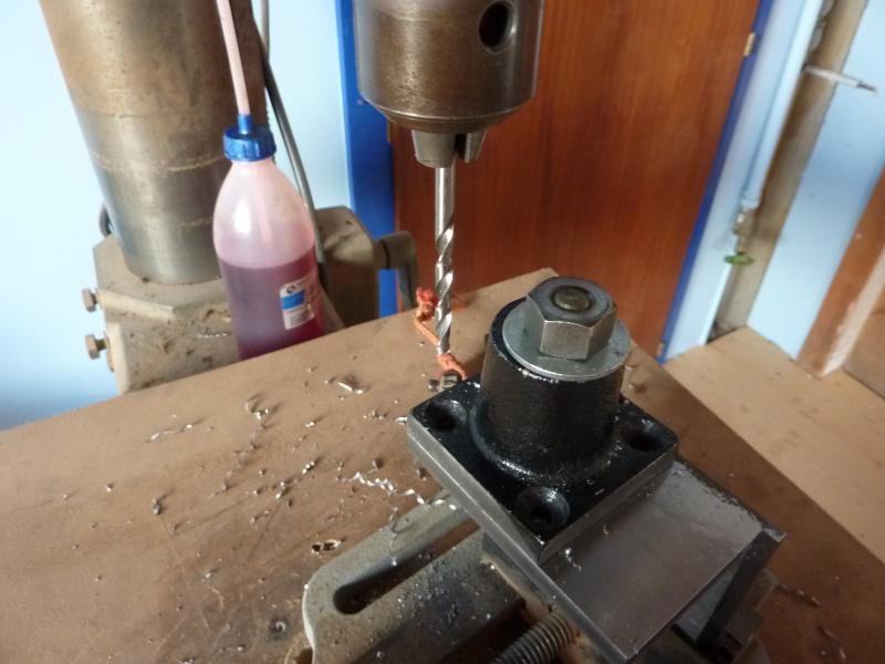 Fabrication d'une platine avec coulisses et vis-mère pour établi ! P1010641
