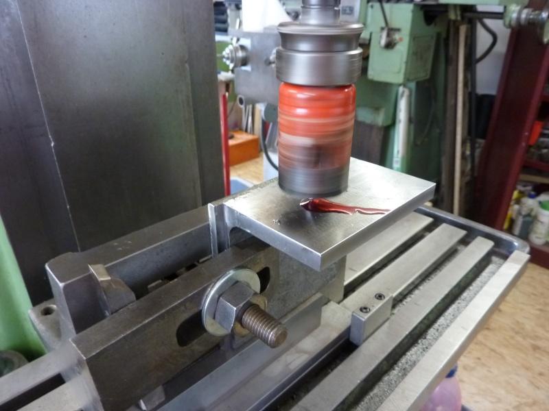Fabrication d'une platine avec coulisses et vis-mère pour établi ! P1010643
