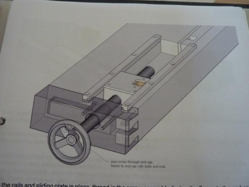 Fabrication d'une platine avec coulisses et vis-mère pour établi ! P1010710