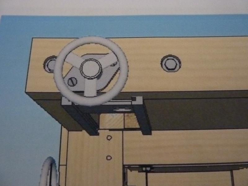 Fabrication d'une platine avec coulisses et vis-mère pour établi ! P1010712