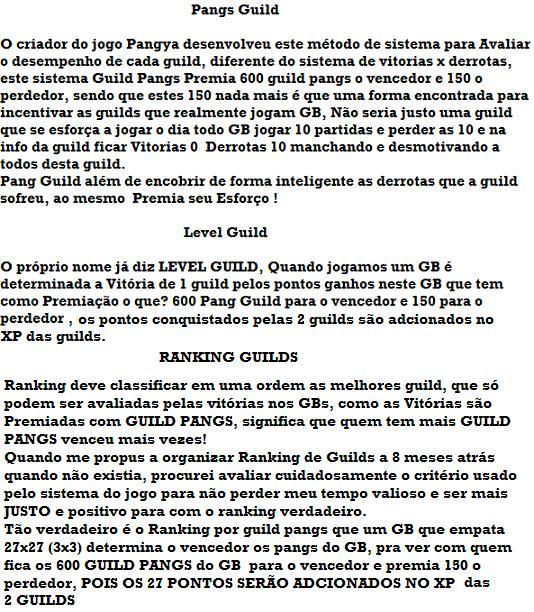 Como funciona o Ranking Guilds 10000010