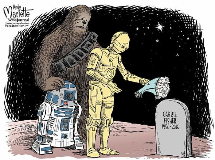 Hommages à Carrie Fisher 1956 - 2016 - Page 2 Artist10