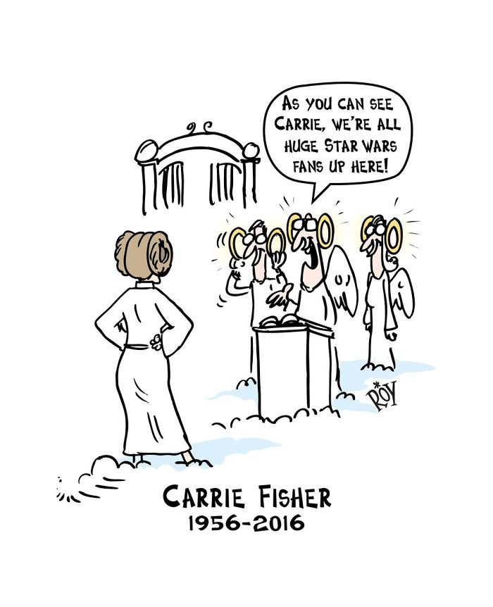 Hommages à Carrie Fisher 1956 - 2016 - Page 2 Artist11