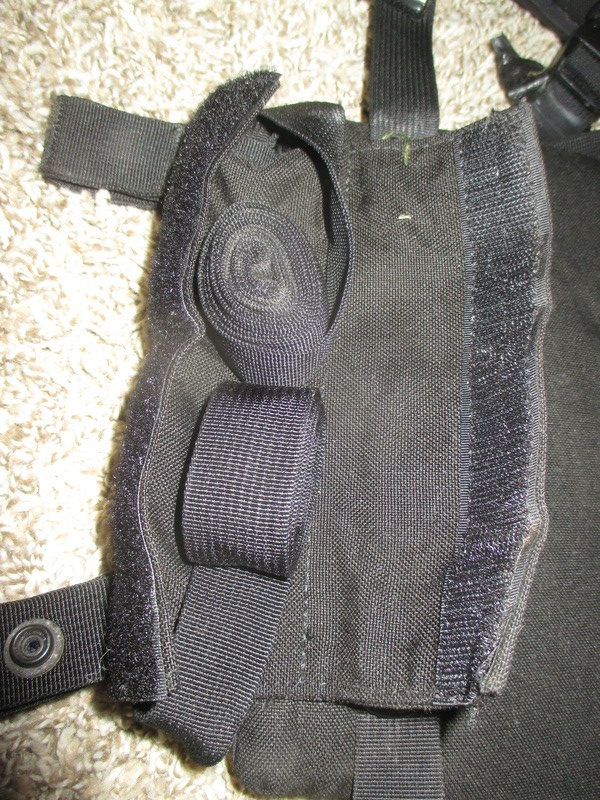 Tactical Flotation Vest - Black Img_0415