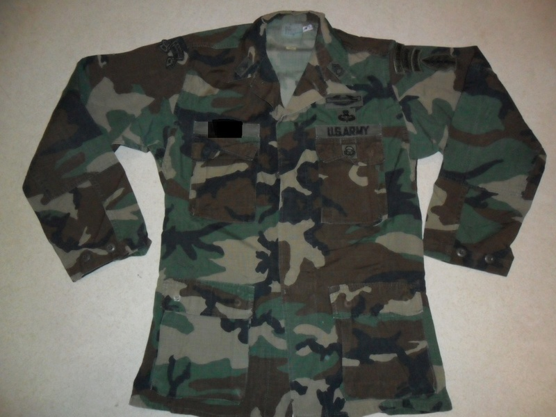 Nice BDU Shirt - Grenada Combat Jump Badged / Named Sam_1314