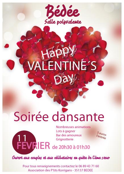 11 février 2017 Soirée dansante de la St Valentin Affich10