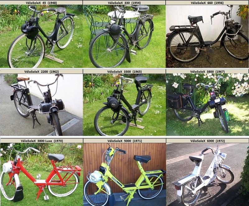 La collection vélosolex Collec10