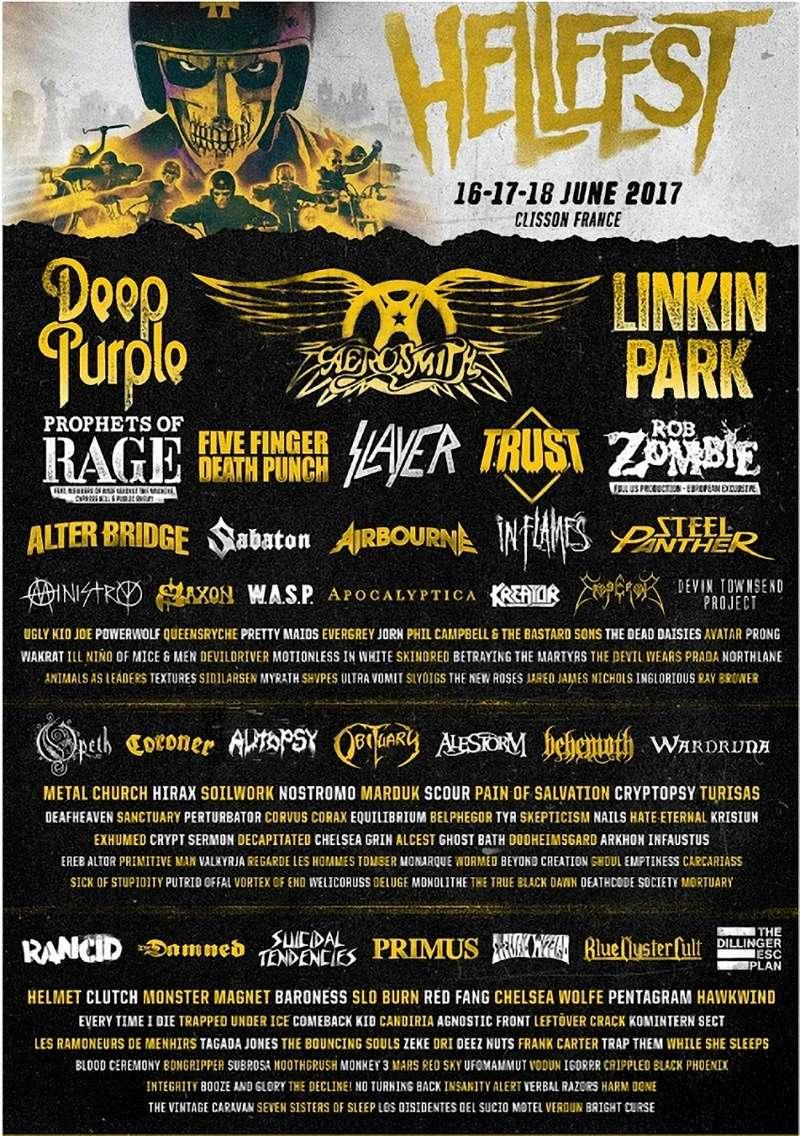 HellFest 2017 Clisson 17-18-19 juin 2017 A13