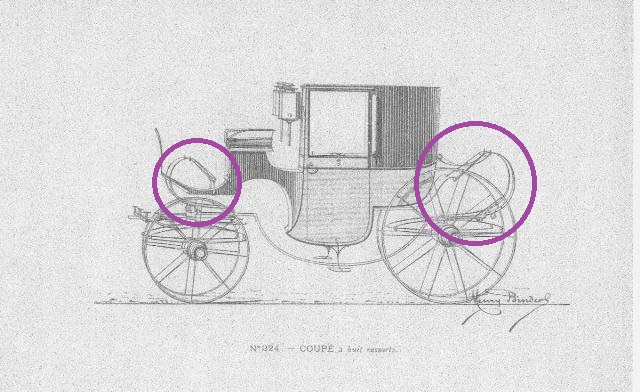 Les véhicules du XVIIIe siècle : carrosses, berlines, calèches, landaus, cabriolets etc. Album_10