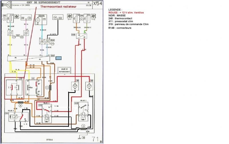 compresseur clim safrane 2.2dt  Gmv10