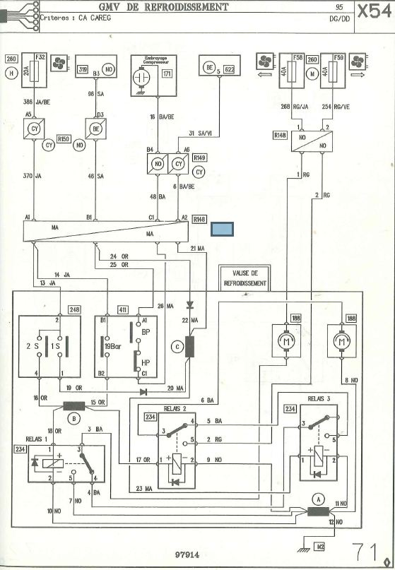 compresseur clim safrane 2.2dt  Gmv110
