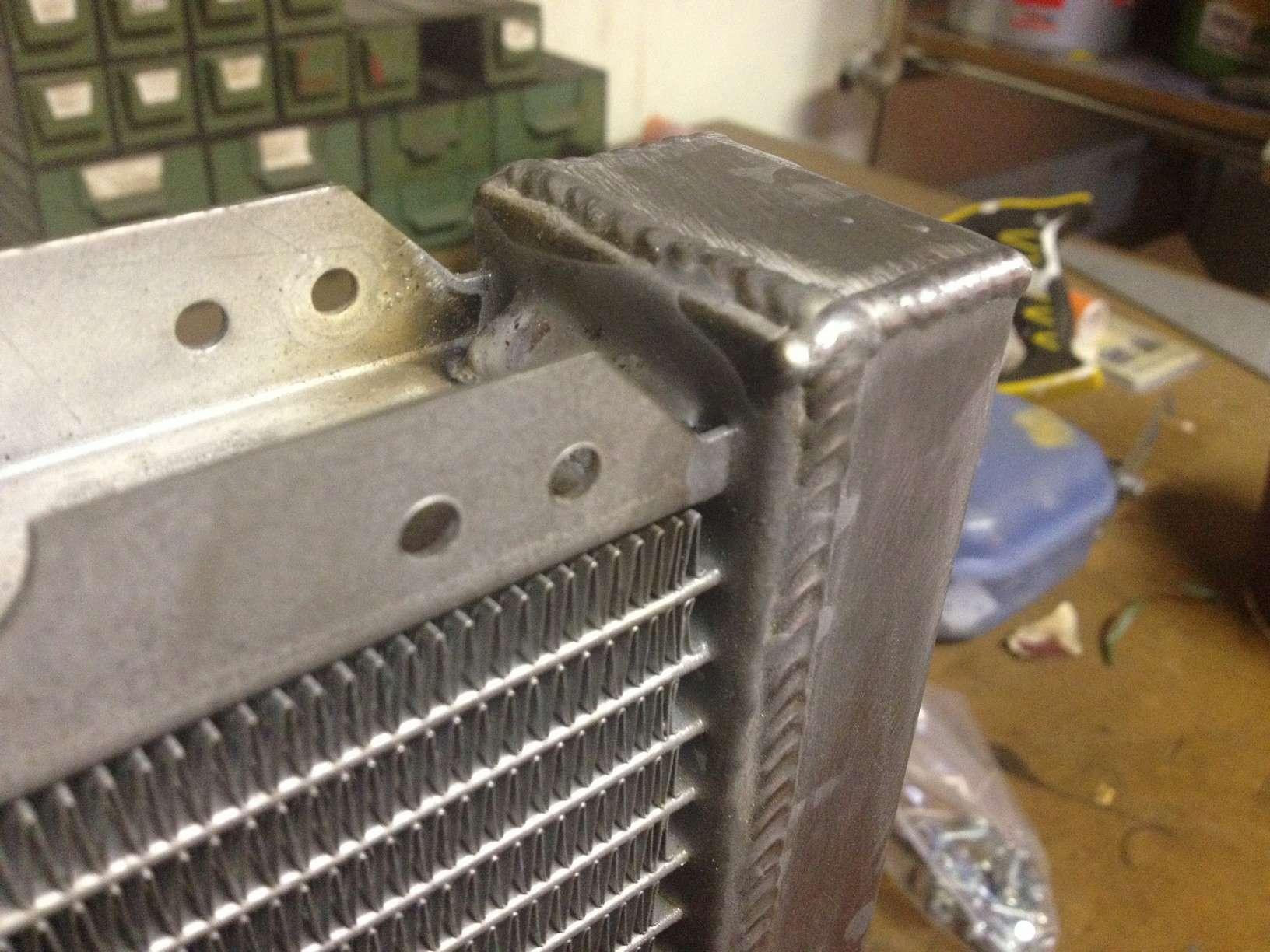 perdita radiatore alluminio Img_3711