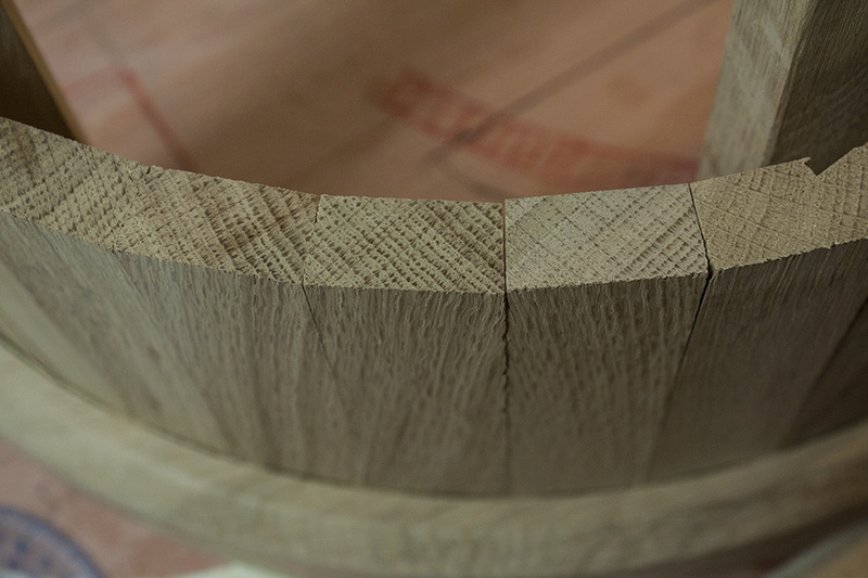[Fabrication] Un habillage de cheminée en cèdre - Page 3 A_blan10